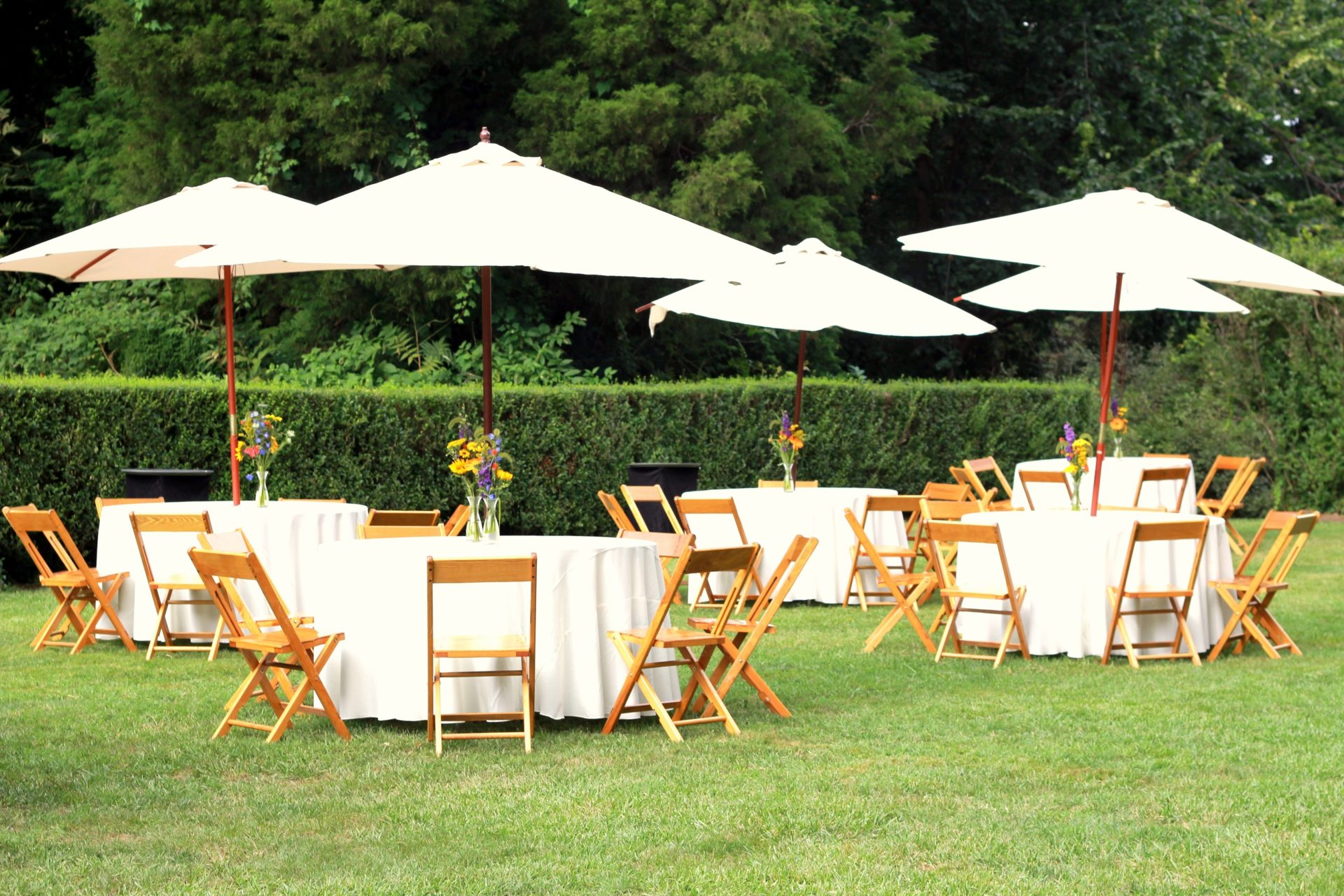 outdoor catering picnic wedding decor reception event party sydney weddings umbrellas events garden table corporate receptions wine chairs tables caterers