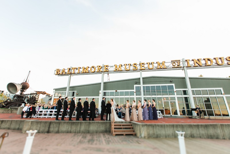Baltimore Wedding Catering Waterfront