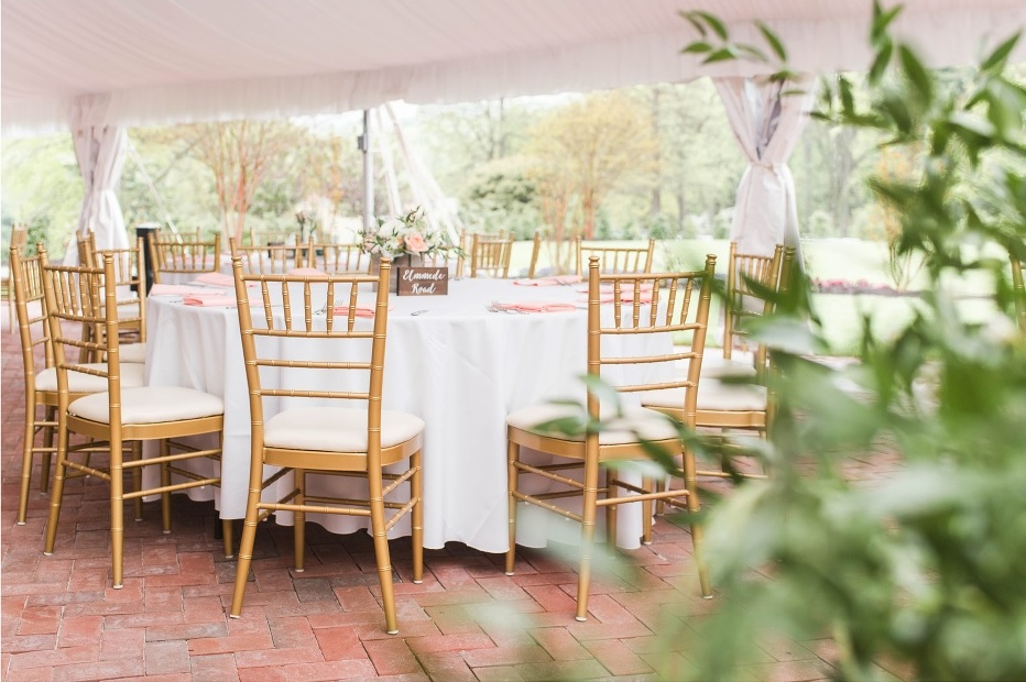 Belmont Manor Tent Wedding Baltimore