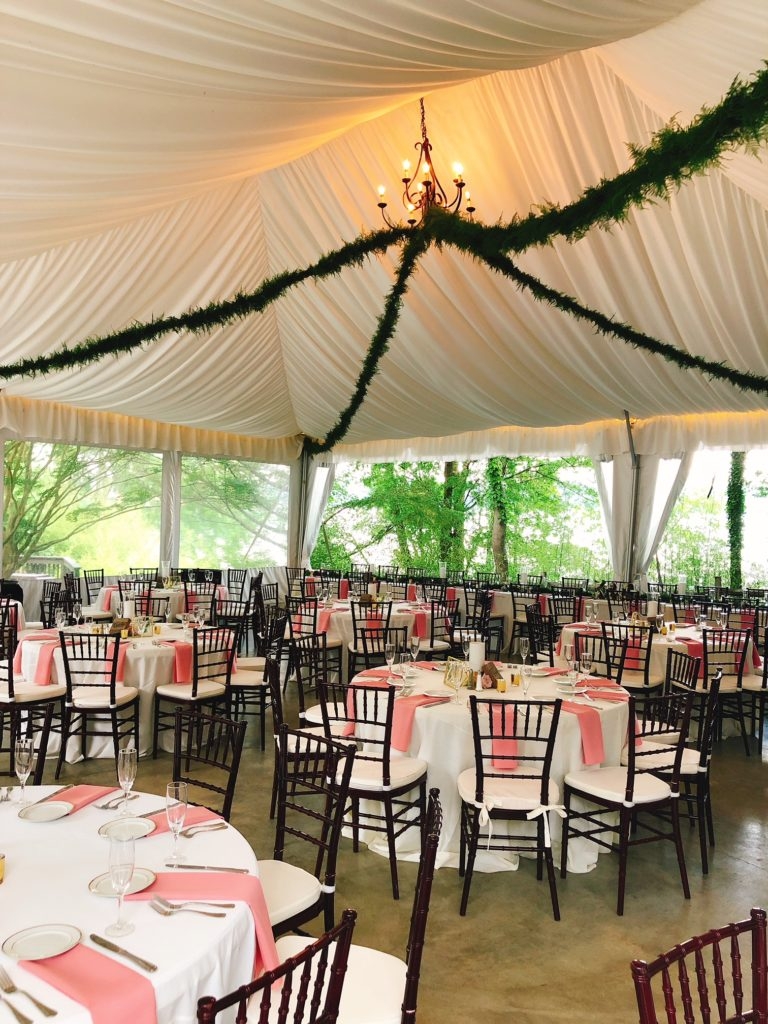 Catering Tent Wedding Baltimore